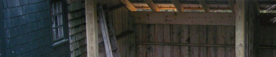 Free Standing Wood Shed