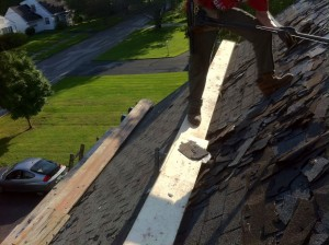 Stripping the Front Roof