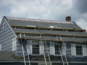 One More Course of Roof Jacks