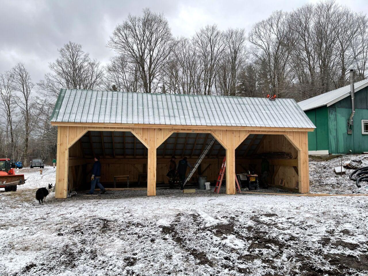Skier Shed for Covid-19 Distancing
